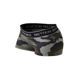 Fitness Hotpants  green Camo