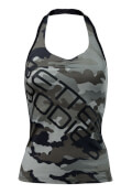 Better bodies Halterneck Tank Top- Camo