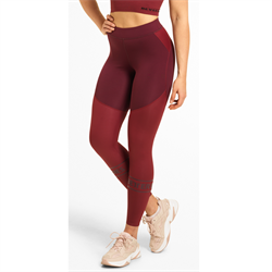 Better Bodies Chrystie Shiny Tights Deep Maroon