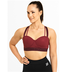 Better Bodies Waverly Sports Bra Sangria Red