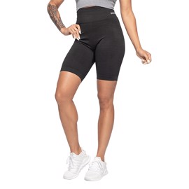Better Bodies Rib Seamless Shorts Black Melange