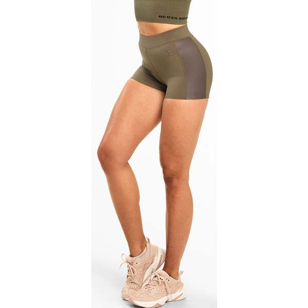 Image of Better Bodies Chrystie Hotpants Wash Green