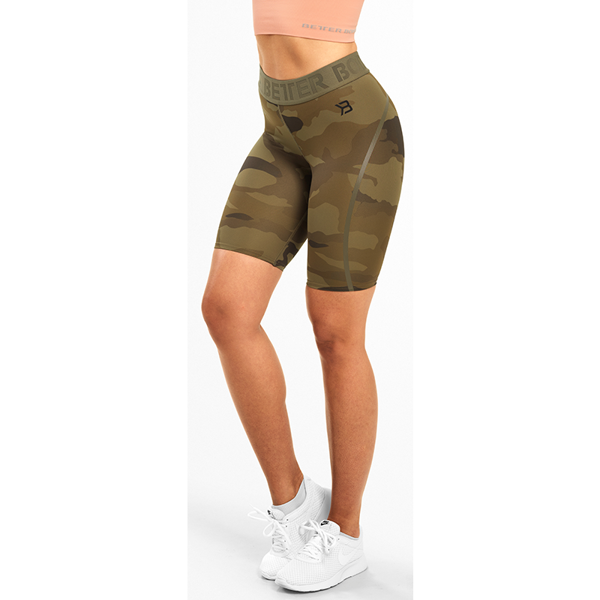 Image of Better Bodies Chelsea Shorts Dark Green Camo