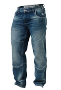 Better Bodies Straight fit denim-  Washed Blue