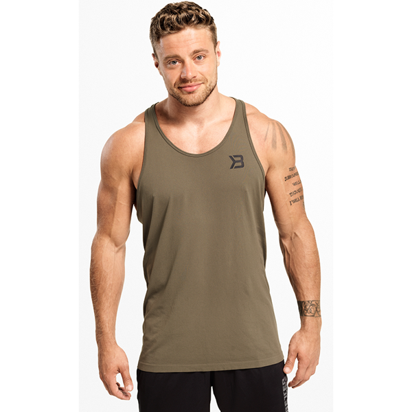 Image of Better Bodies Hamilton Tank Wash Green