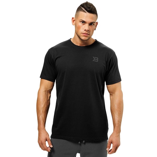 Image of   Better Bodies Stanton Oversize Tee Wash Black
