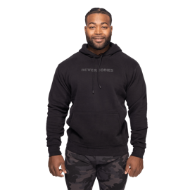 Better Bodies Logo Hoodie Black (Unisex)
