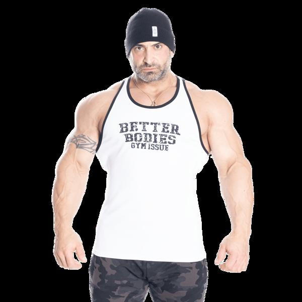 Better Bodies Jersey Rib T-Back White