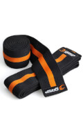 GASP Knee Wraps Sort/orange
