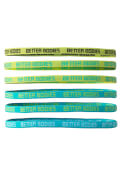 Better Bodies Headband - Aqua/Dark grey
