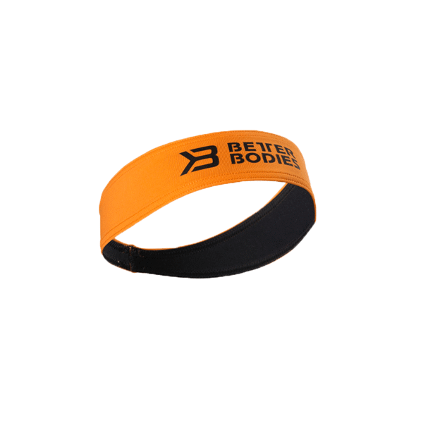 Image of   Better Bodies Hair Sweatband - Bright Orange