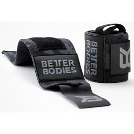 Better Bodies BB Wrist Wraps, Dark Camo