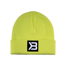 Better Bodies Tribeca Beanie Neon Yellow