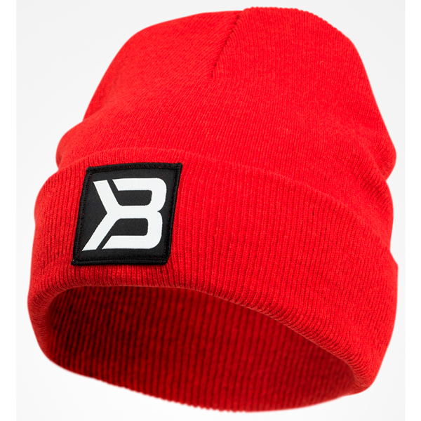 Image of Better Bodies Tribeca Beanie Bright Red