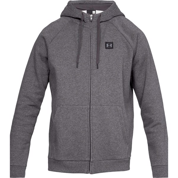 Image of   Under Armour Rival Fleece FZ Hoody Dark Grey