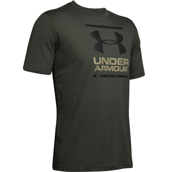 Image of   Under Armour GL Foundation SS Tee Baroque Green