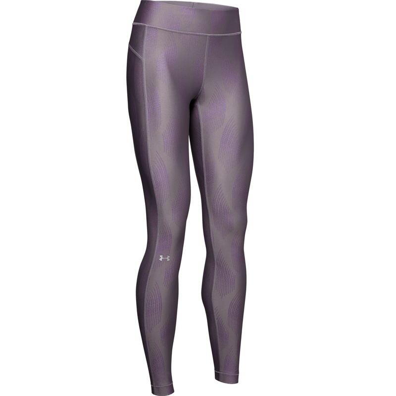 Under Armour HeatGear Armour Metallic Leggins Flint