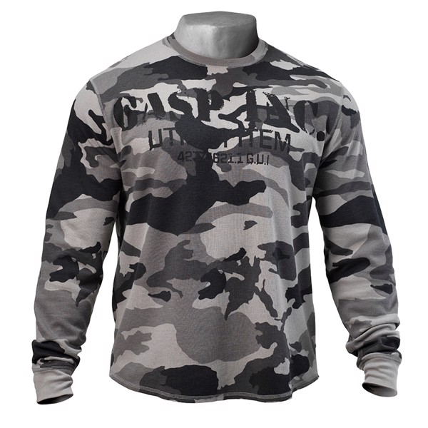 Image of Gasp Thermal Gym Sweater Tactical Camo