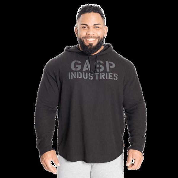 GASP L/S Thermal Hoodie Black/Black