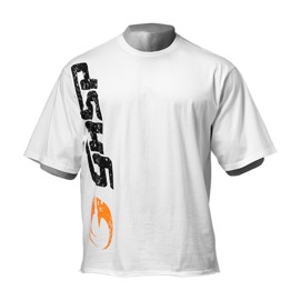 Gasp Iron Tee White