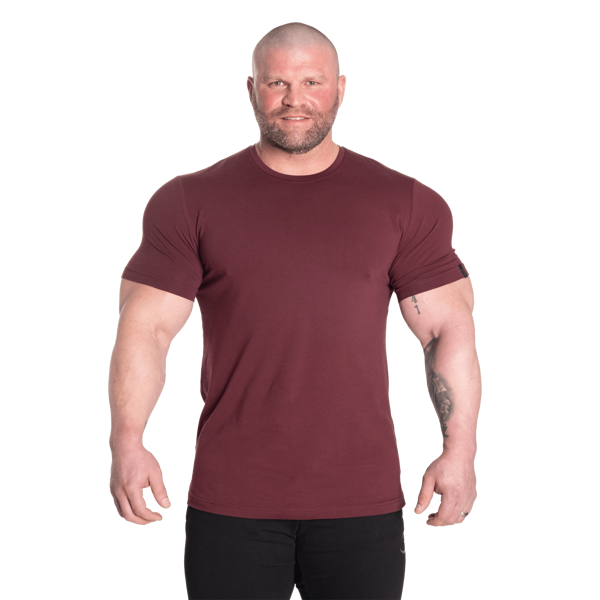 GASP Classic Tapered Tee Maroon