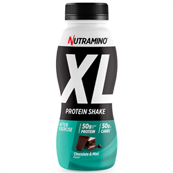 Nutramino Protein XL Shake Chocolate/Mint 500ml - 12 stk