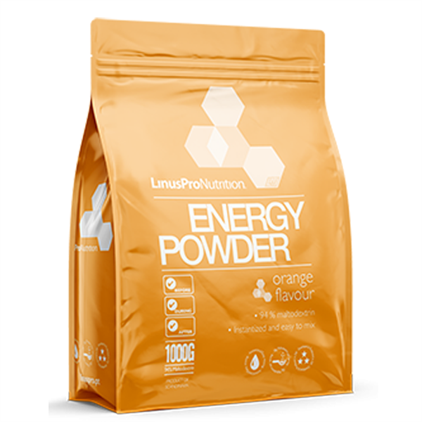 Linuspro Energy Powder Orange 1000 g