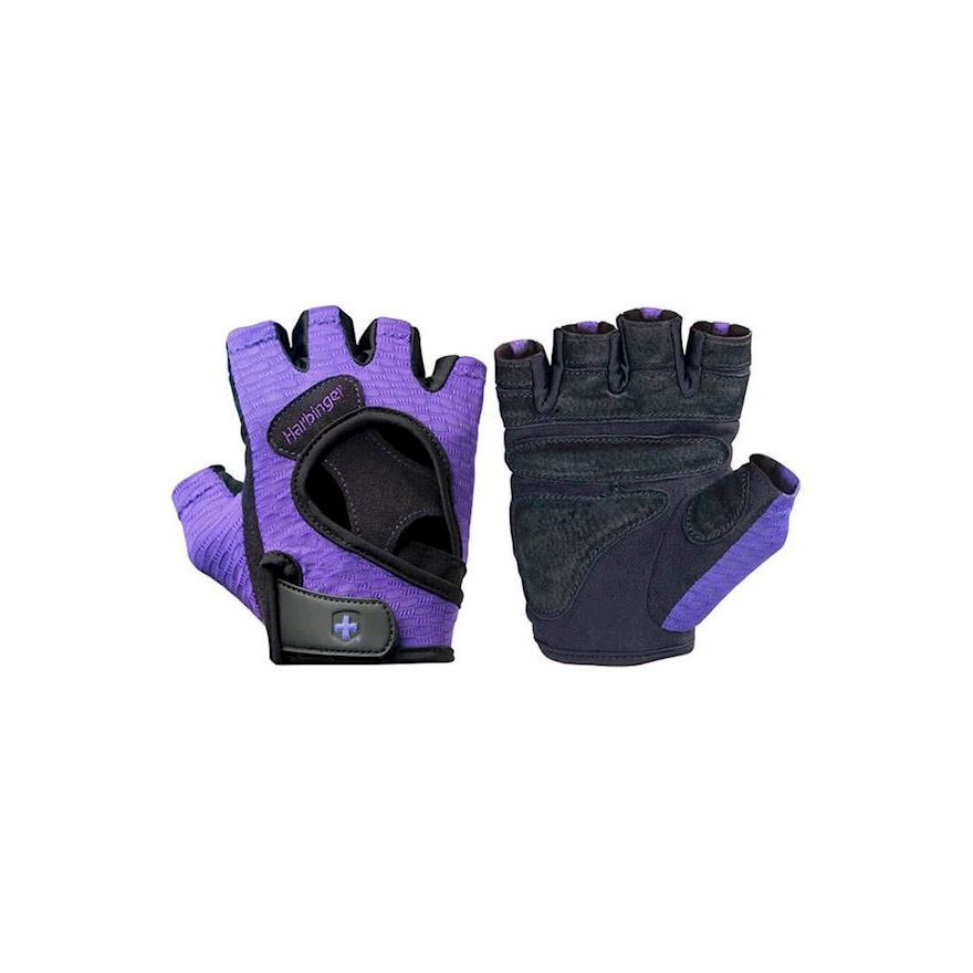 Harbinger Women\'s FlexFit Gloves Black/Purple