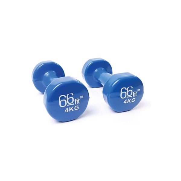 Billede af 66Fit Dumbbell Set 4kg Blue