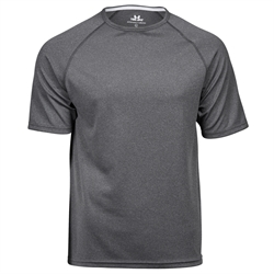 Performance Tee Dark Grey Melange