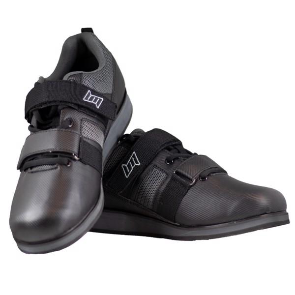 BM Powerlifting Shoes Black/Grey thumbnail