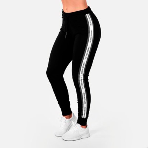 Image of Better Bodies Chrystie Sweatpants Black