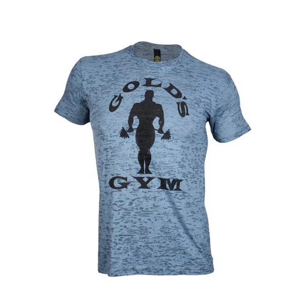 Golds Gym Subtle Toned Burnout Crew Tee