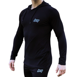 BM Hooded Long Sleeve Black