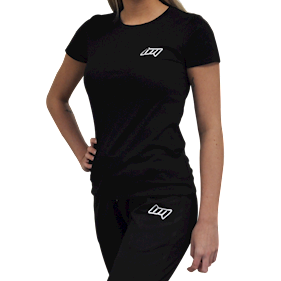BM Womens Fitted Tee Black