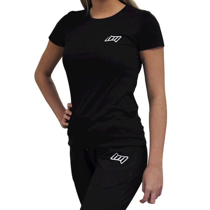 Image of BM Womens Fitted Tee Black