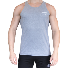 BM Tank Top Oxford Grey