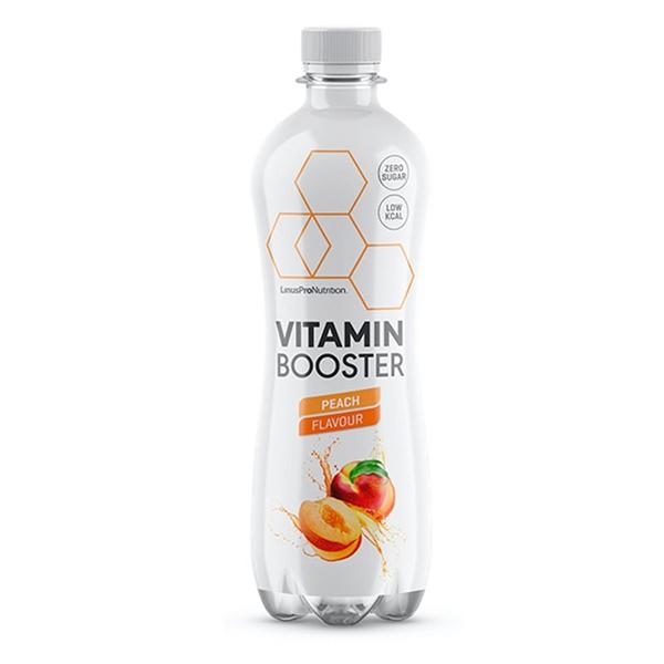 Køb LinusPro Vitamin Booster Peach 12x500ml.