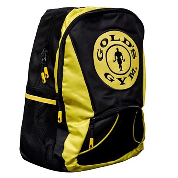 Image of Golds Gym Backpack Black/Gold