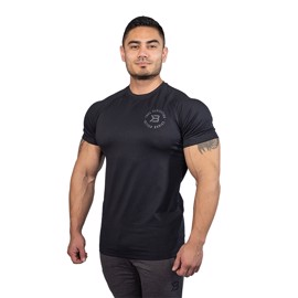 Better Bodies Gym Tapered Tee Black