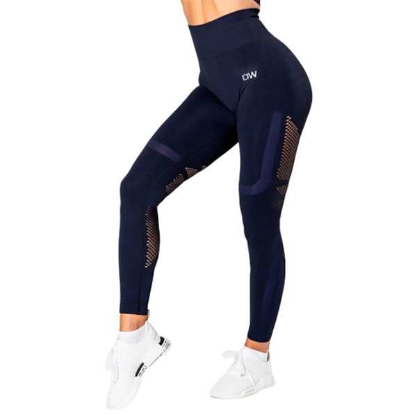 Image of ICANIWILL Seamless High Waist Tights Navy