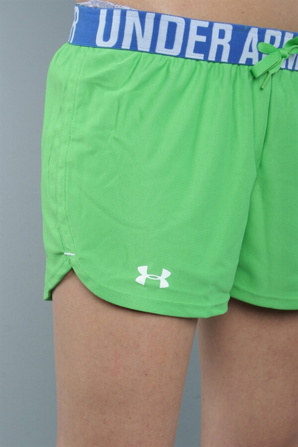 UA Women The Play Up Shorts Gr�n
