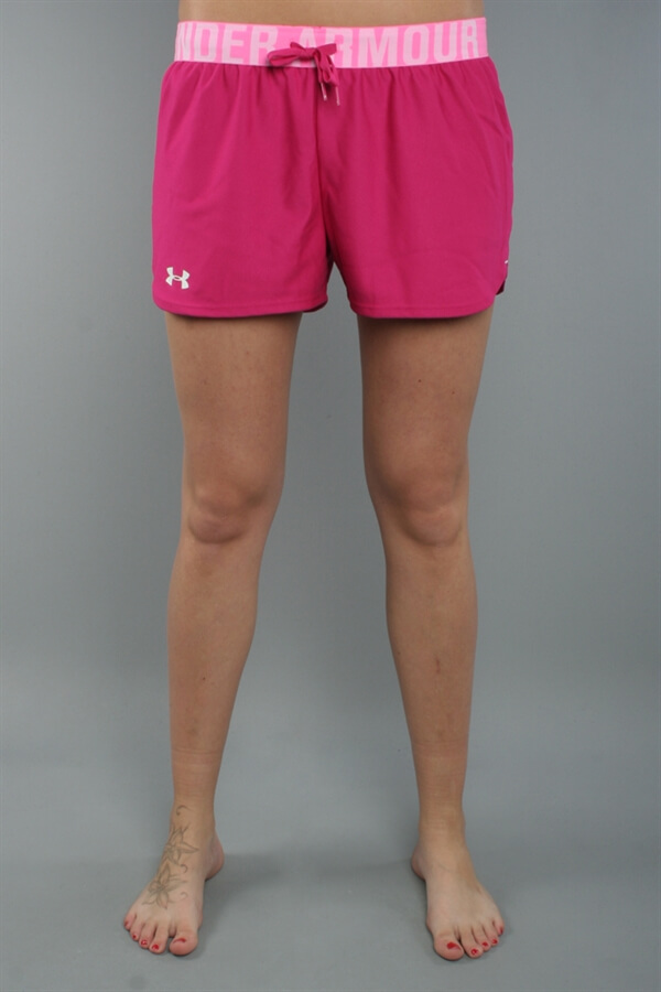 UA Women The Play Up Shorts Rosa