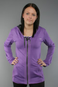 Reebok On The Move Ps Hooded Jacket Purple/Gravel