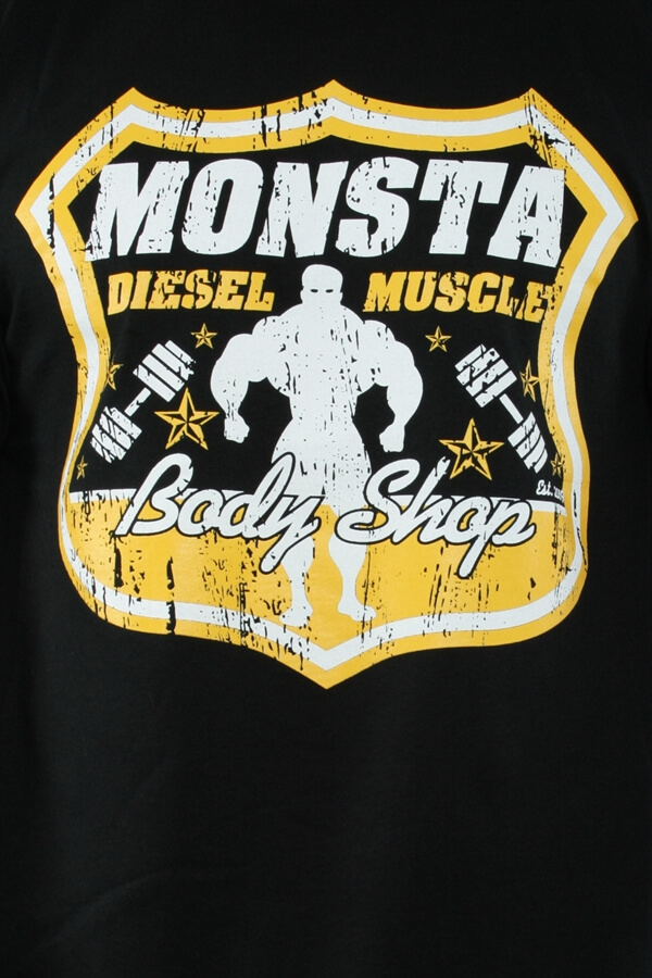 Monsta Diesel Muscle Bodyshop Tee Sort