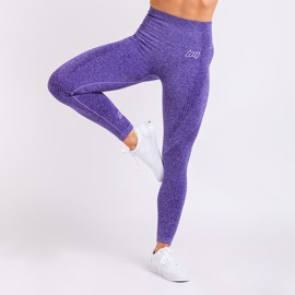BM Seamless High Waist Tights Purple