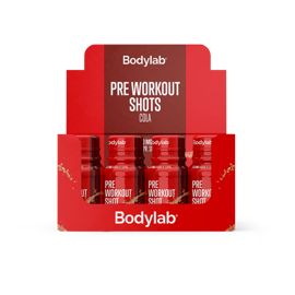 Bodylab Pre Workout Shots Cola 12x60ml