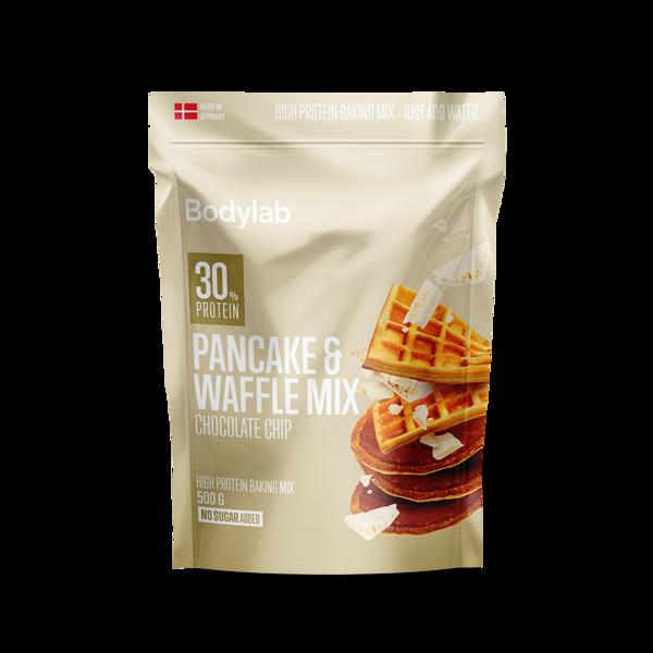 Køb Bodylab Pancake & Waffle Mix White Chocolate 500g