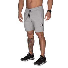 Better Bodies Tapered Sweatshorts Light Grey Melange