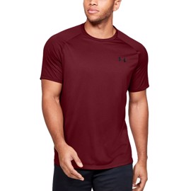 Under Armour Tech SS Tee Novelty Red